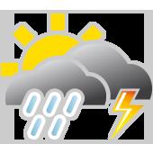 Sonne und Quellwolken, Regenschauer und Gewitter möglich